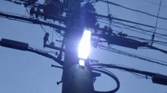ご家庭の照明だけでなく、町内会からのご依頼で防犯灯のLED取替工事を行った事例もあります!