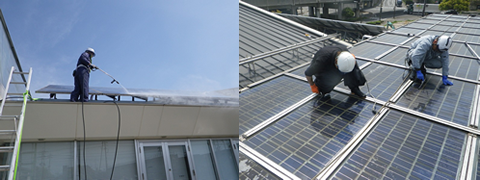 太陽光発電パネルの定期メンテナンス